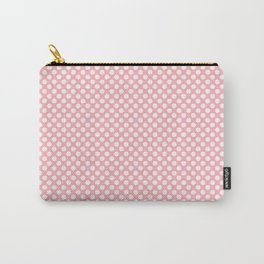 Polka Dots Pattern-Pink Carry-All Pouch