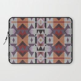Native American Indian Tribal Mosaic Rustic Cabin Pattern Laptop Sleeve