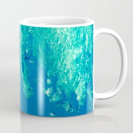 Waves under the water Coffee Mug