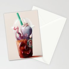 Coffee challenges. Stationery Cards