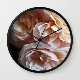 Floribunda #1 Wall Clock