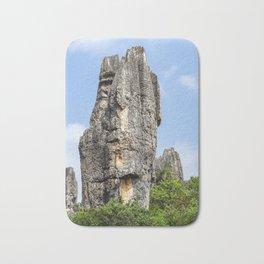 Shilin Stone Forest - Yunnan, China Bath Mat