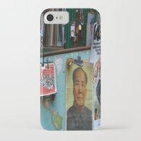 hong kong iPhone & iPod Cases featuring hong kong by Teresa Gabry