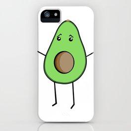 Awkward Avocado iPhone Case