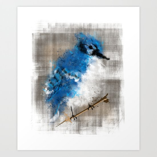 A Blue Jay Today Art Print