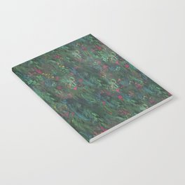 After Anawhata Jungle  Pattern Notebook