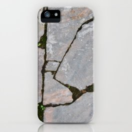 Damaged stones pic iPhone Case
