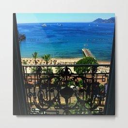Carlton Hotel Cannes Metal Print