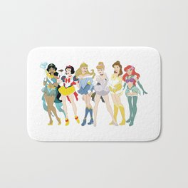 Pretty Pretty Princess Scouts Bath Mat