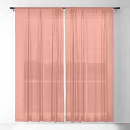 that Coral Life Sheer Curtain