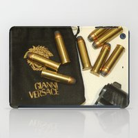 versace iPad Cases featuring Versace Bullets Colt by Premium