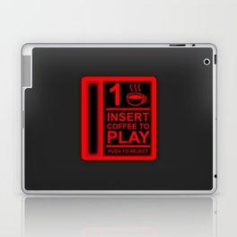 Insert Coffee - Neon Red Laptop & iPad Skin