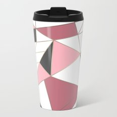Abstraction . 4 geometric pattern Metal Travel Mug