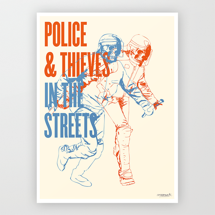 Police and Thieves - Limited Edition Print Editions