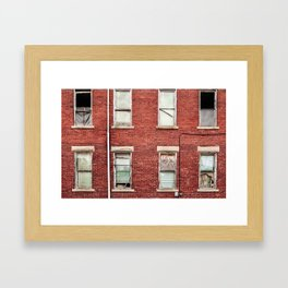 Brickhouse Framed Art Print