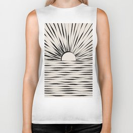 Minimal Sunrise / Sunset Biker Tank
