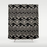 navajo Shower Curtains featuring Navajo by Stephanie Le Cocq