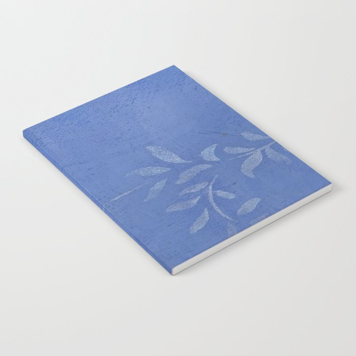 Blue Ivy Vine - Pretty - Rustic - Floral Notebook