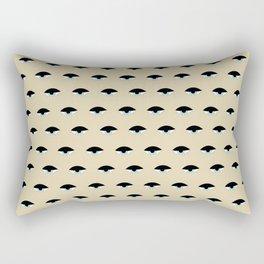 Sleepy Eyes (natural) Rectangular Pillow