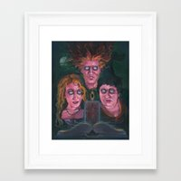 hocus pocus Framed Art Prints featuring Hocus Pocus by Todd Spence