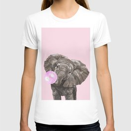Baby Elephant Blowing Bubble Gum T-shirt