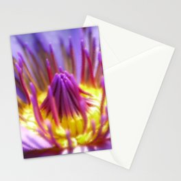 Macro digital flower painting for fine houses decoration. Stationery Cards