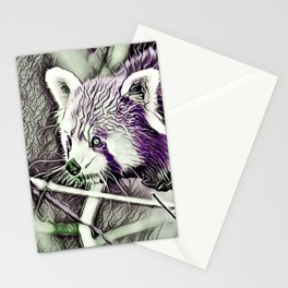 NewArt Animal C Red Panda Stationery Cards
