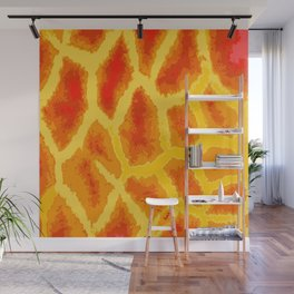 Giraffe and a Half Wall Mural