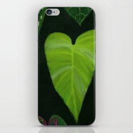 I heart houseplants iPhone Skin
