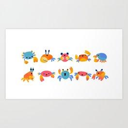 Crab Kunstdrucke
