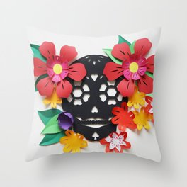 Calavera 1 Throw Pillow