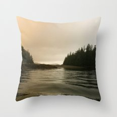 They Mysterious Island Throw Pillow