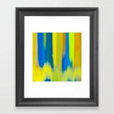Strong Colors Rising Framed Art Print