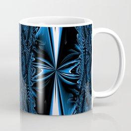 Blue FIS Cross Abstract 1 Coffee Mug