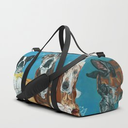 The Last Dessert Dog Portrait Duffle Bag