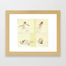 Crooked Creek #4 Framed Art Print