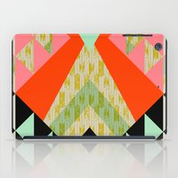 quilt iPad Cases featuring Arrow Quilt by Pattern State