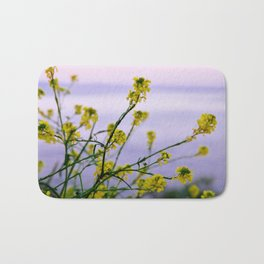 Spring is yellow Bath Mat