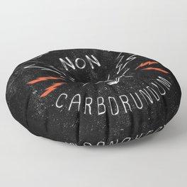 Illegitimi Non Carborundum Slogan Artwork Floor Pillow