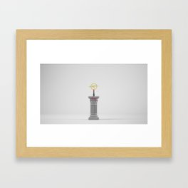 STILL LIFE - 5 Framed Art Print