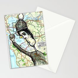 Oakland, California Stationery Cards