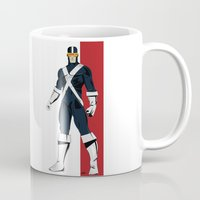 cyclops Mugs featuring Cyclops by Andrew Formosa