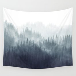 Forest Haze Wall Tapestry