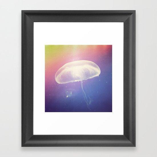 Microcosm. Framed Art Print