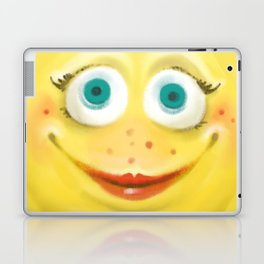 Just Smile :) Laptop & iPad Skin