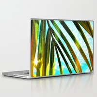 palm Laptop & iPad Skins featuring Palm by Stephanie Stonato