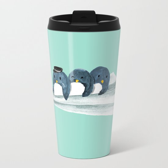 Let's travel the world Metal Travel Mug