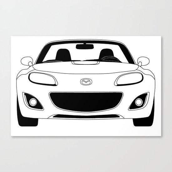 NC Miata/MX-5 Canvas Print