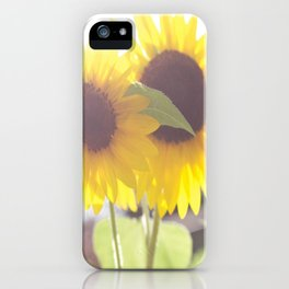 Sunflowers From My Mother-in-law's Garden iPhone Case