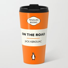 Penguin Book / On The Road - Jack Kerouac  Travel Mug